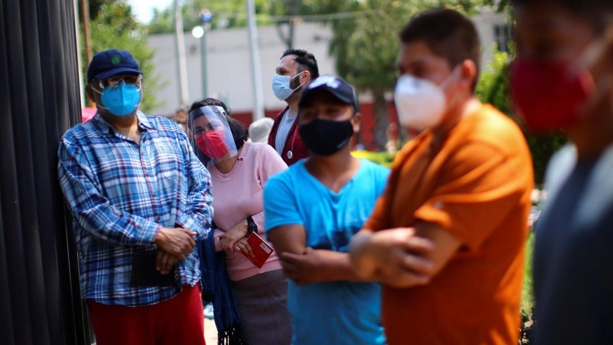 Casos de Covid-19 y muertes en México 28 noviembre 2020