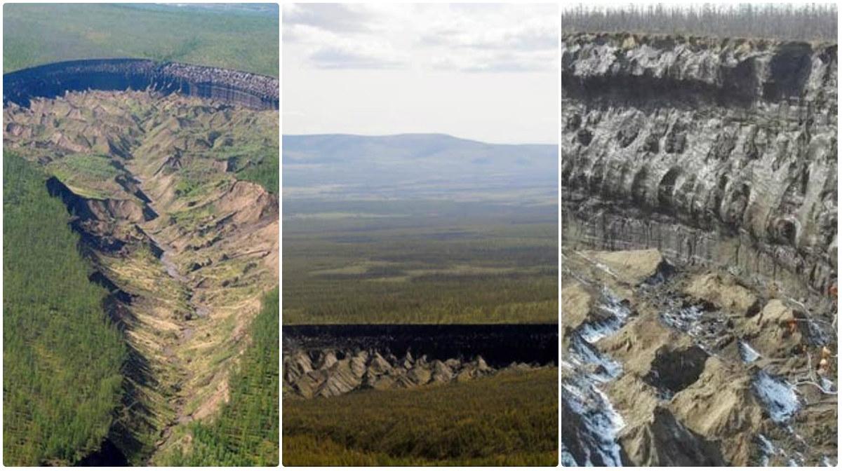 Aparece otro cráter con 50 metros de profundidad en Siberia