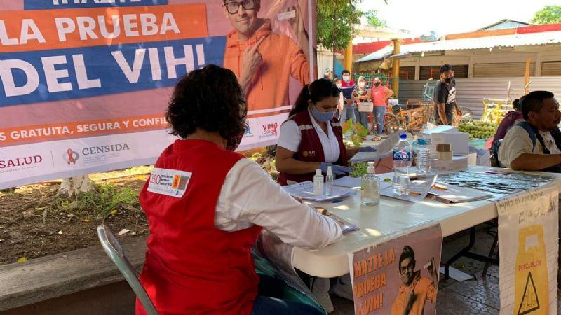 Realizan pruebas rápidas de VIH en Felipe Carrillo Puerto