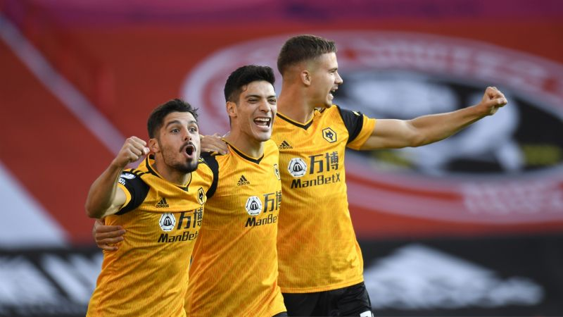 Raúl Jiménez anota un golazo en su partido 100 con Wolves (VIDEO)