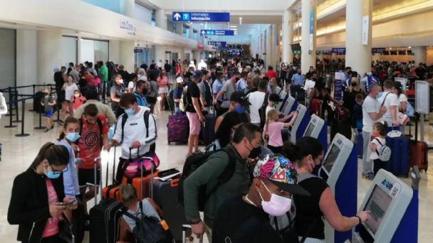 Semana Santa 2021: Aeropuerto de Cancún registra 405 operaciones (FOTOS)    PorEsto