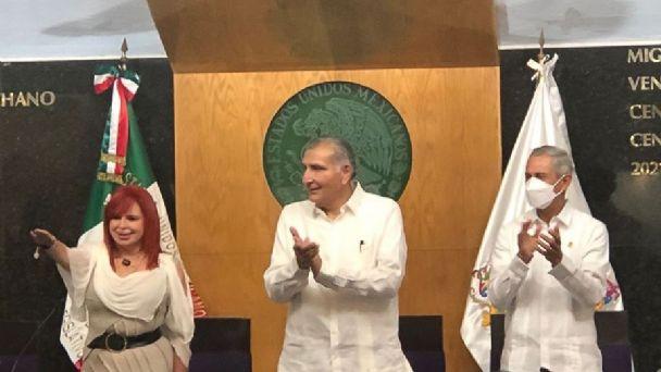 Layda Sansores, nueva Gobernadora de Campeche: Así fue su toma de protesta  | PorEsto